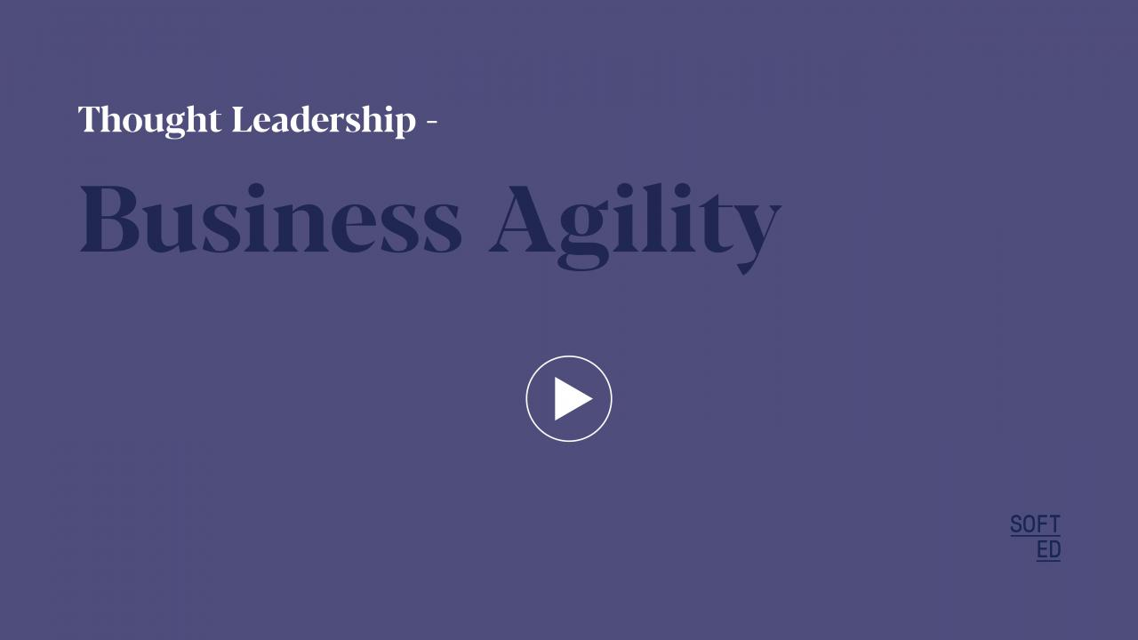 Accelerating Business Agility